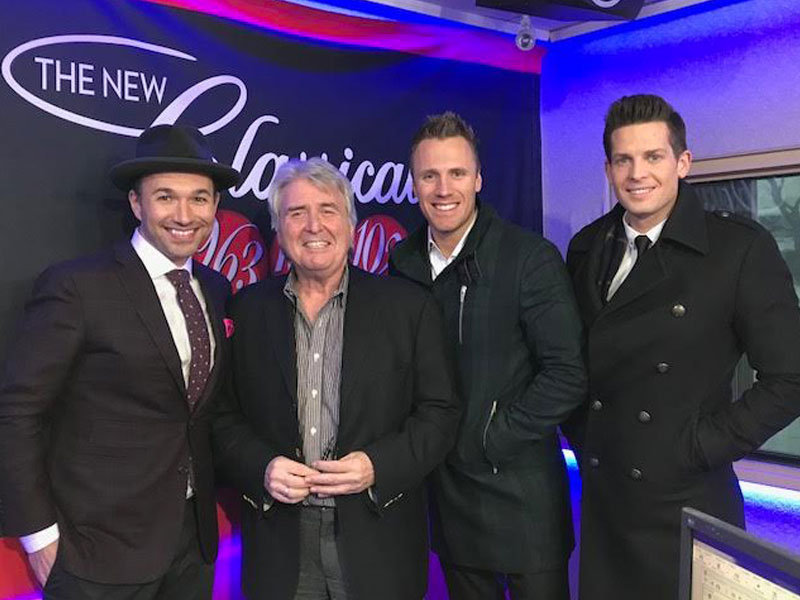 "The Tenors chat with Kerry Stratton before ""Christmas Together"" Show featured image"