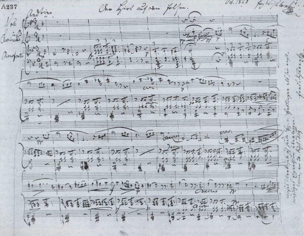 Sublime lyricism and elegant writing marks the music of Schubert, born January 31 featured image