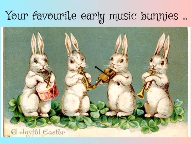 This Week on Zero to 1800: Early Music Bunnies featured image