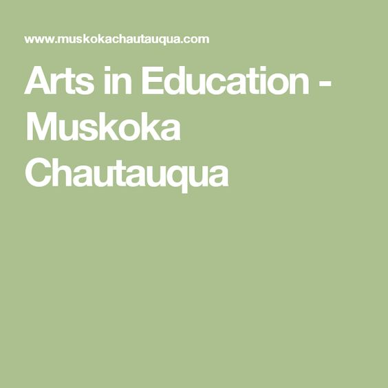 Muskoka Chautauqua…A Theme Park For The Mind featured image