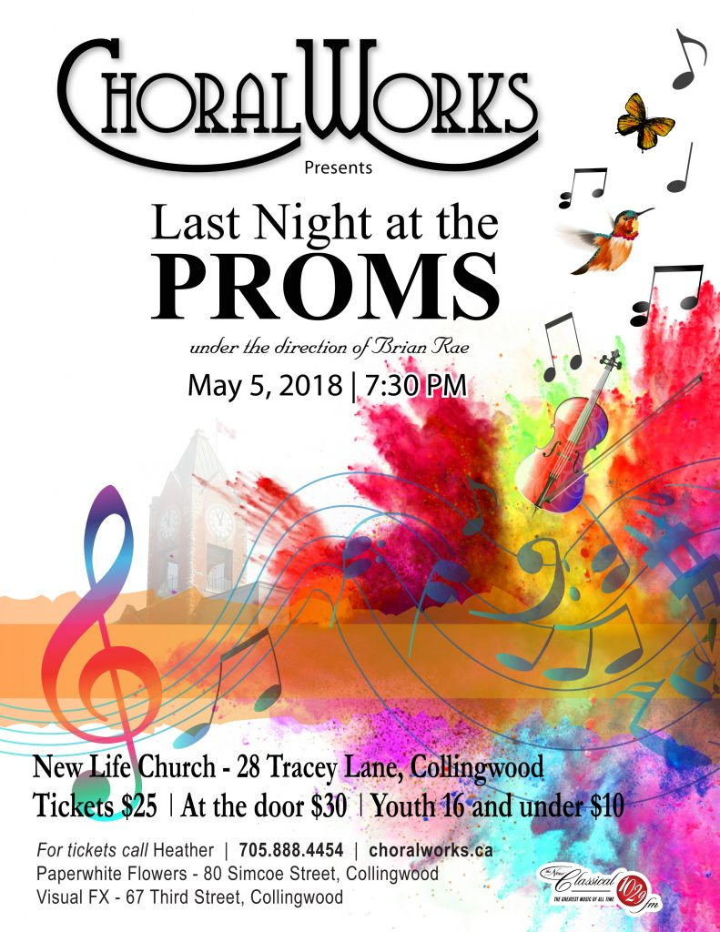 "ChoralWorks Exciting Spring Concert Is ""Last Night At The Proms"" featured image"