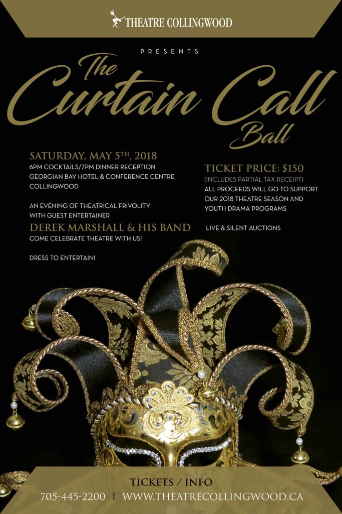 "Dress To Entertain At Theatre Collingwood's ""Curtain Call Ball"" featured image"