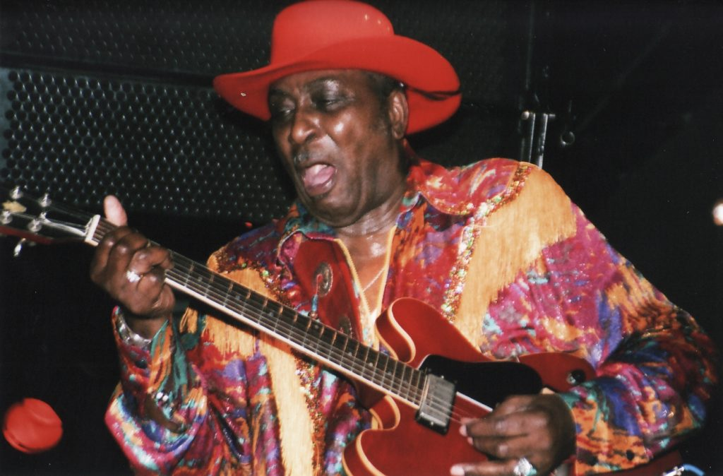 "Eddie ""The Chief"" Clearwater Brings His Gritty West Side Shuffles To Simcoe Street Theatre featured image"