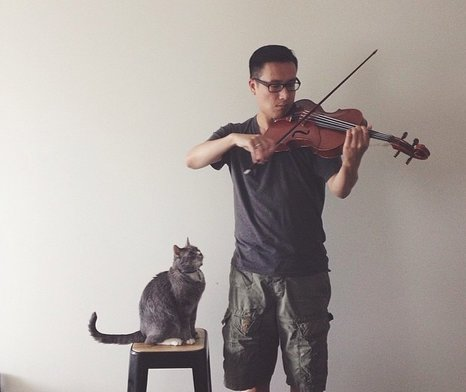 "5/5-Part Series: Finding ""the one"" – the right instrument. Violist Brandon Chui featured image"
