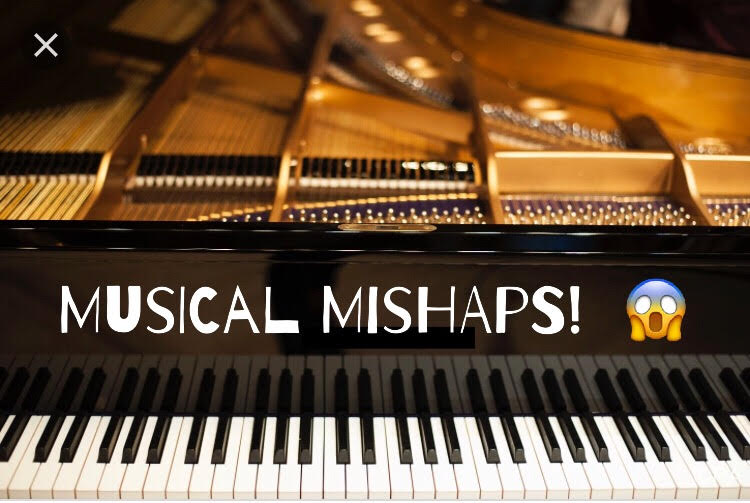 Musical Mishaps Series. Today: Blame the Page Turner. featured image