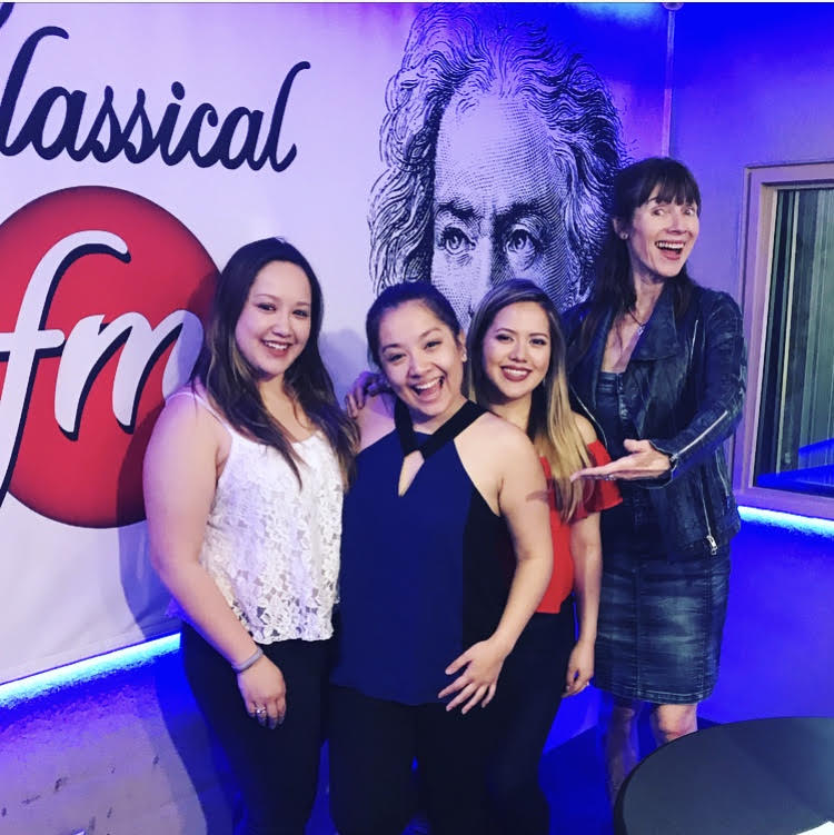 "The Ault Sisters visit ""Classical Mornings"" with Mike & Jean featured image"
