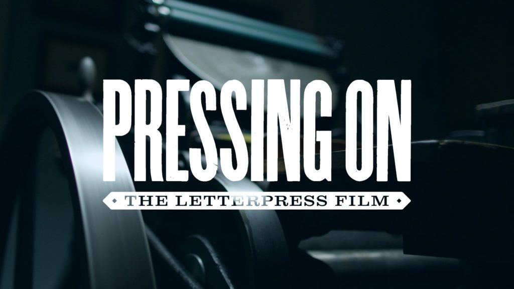 Pressing On: The Letterpress Film, A Film Review by Marc Glassman featured image