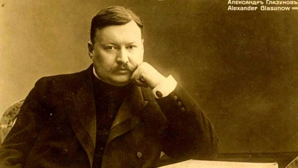 So maybe there was vodka stashed in his desk drawer. But what a composer: marking Glazunov's birthday, August 10 featured image