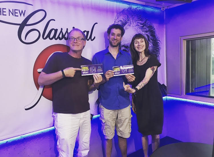 "Ashkenaz Festival Artistic Director Eric Stein visits ""Classical Mornings"" featured image"