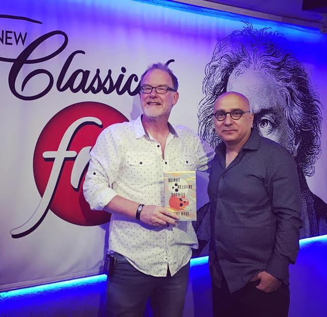 "Author Rawi Hage visits ""Classical Mornings"" to chat about his latest book featured image"