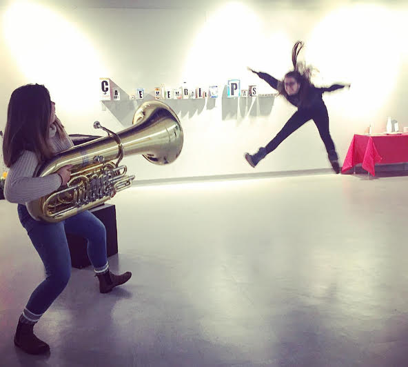 Fun photo: blast-off tuba! featured image