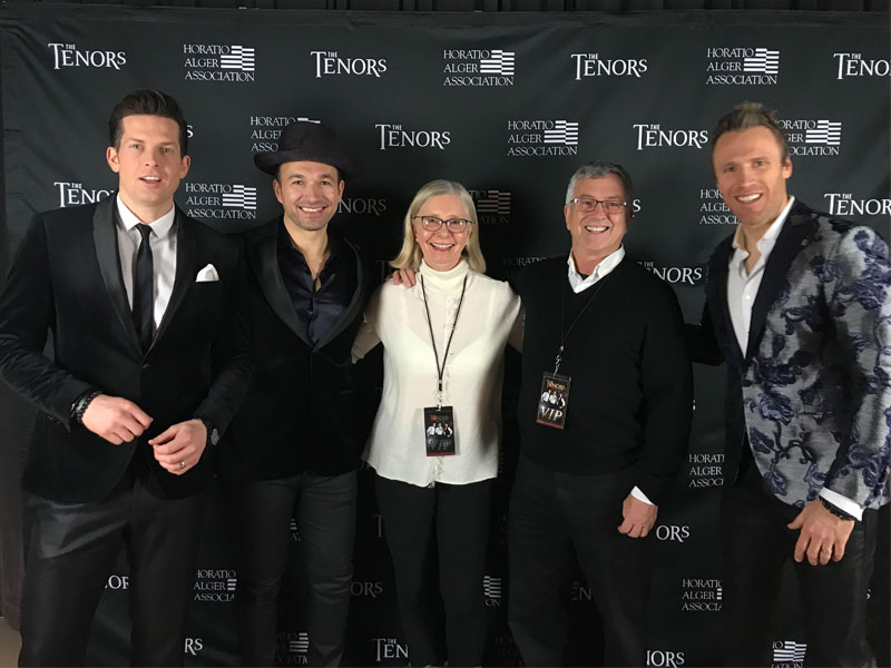 "Our VIP Tenors Contest Winners Enjoyed Backstage Passes to the ""Home for the Holidays: Christmas Classics and the Hits"" Tour featured image"