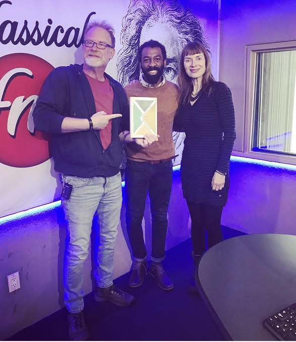 "Ian Williams, author of ""Reproduction"" published by Penguin Random House Canada, visits ""Classical Mornings"" featured image"