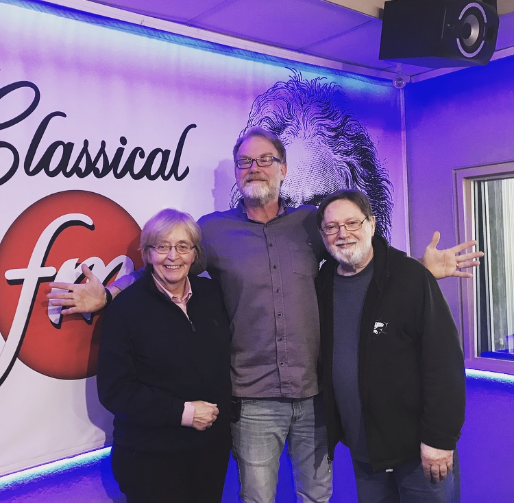 "Choral greats Lydia Adams & Jon Washburn chat with Mike Duncan on ""Classical Mornings"" featured image"