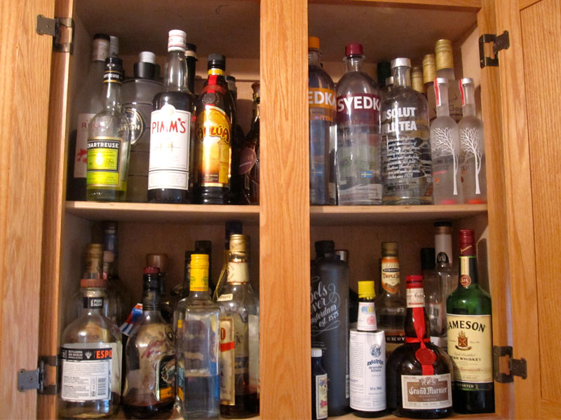 "This Week on ""Dinner Classics"" Cocktail Maestro Norm Owen Reaches for the Back of The Liquor Cabinet ""Stray Bottles"" featured image"
