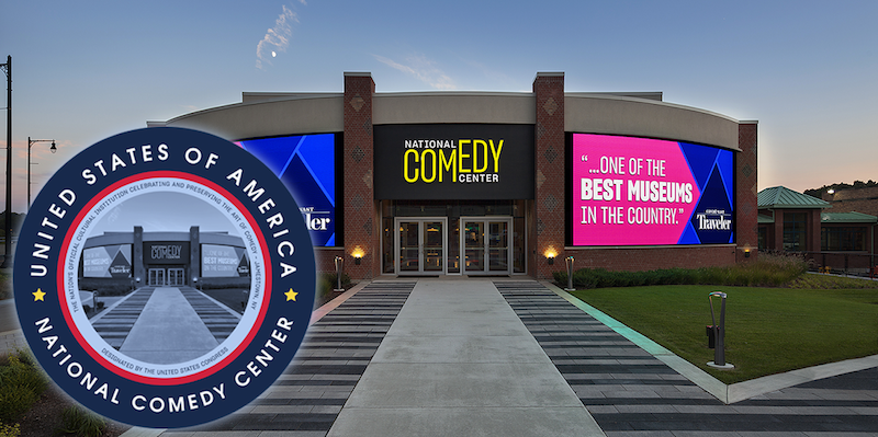 The National Comedy Center in Jamestown, New York is a HUGE Hit! featured image