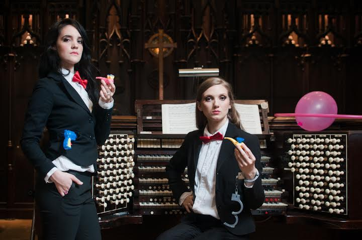 The Organized Crime Duo Blend a Classic Organ Repertoire with Pop Music featured image