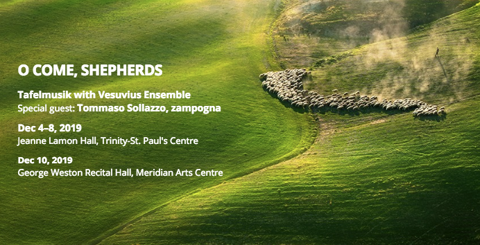 Tafelmusik and Vesuvius Ensemble bring Christmas to the Italian Countryside with 'O Come, Shepherds' featured image
