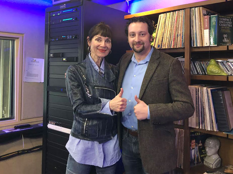 COC's The Barber of Seville Bass Baritone Joel Allison Stopped by Classical Mornings featured image