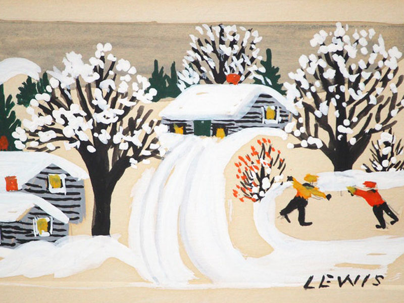 Canadian Author Auctioning Rare Maud Lewis Art to Raise Money for Australian Wildfires featured image