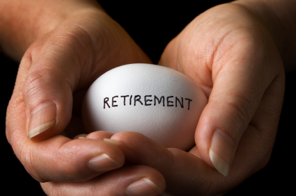 Egg Labelled Retirement