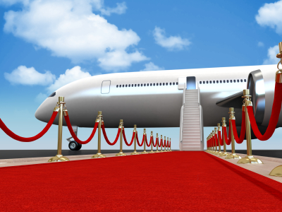 Red Carpet to Airplane