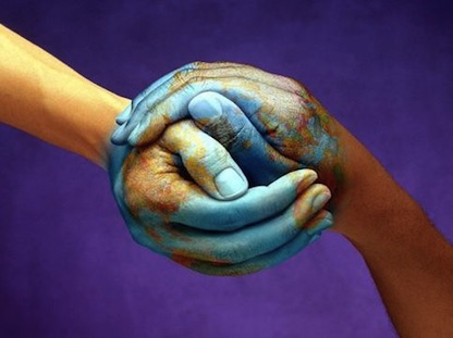 World a Better Place Hands