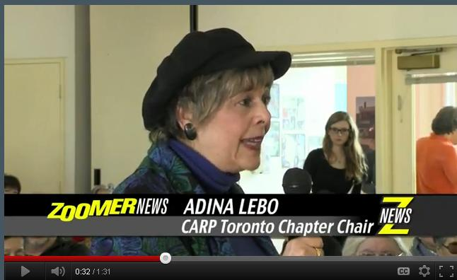 Adina at OAS town hall