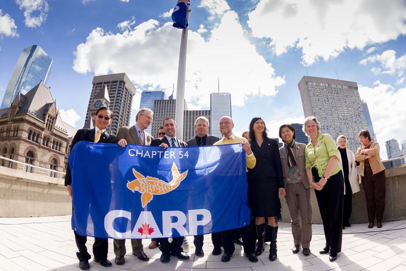 CARP Flag Raising Toronto