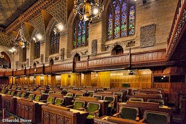 Inside the Parliament Buildings