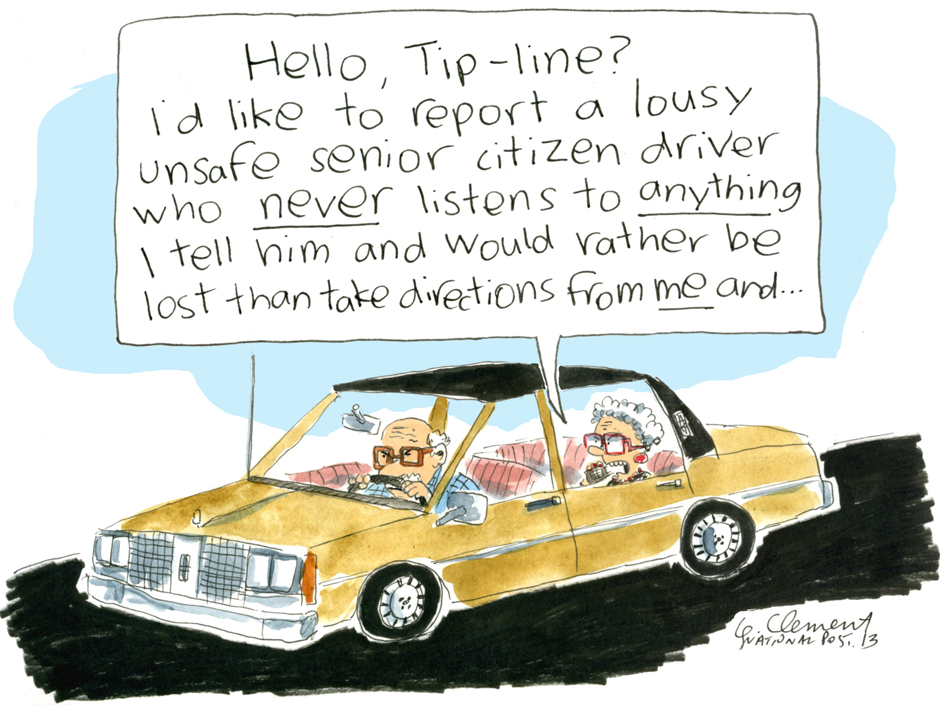 tip line cartoon