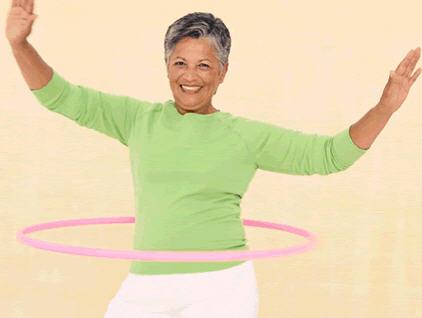 hula hoop active aging