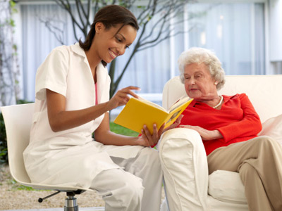 nursing home senior caregiver care