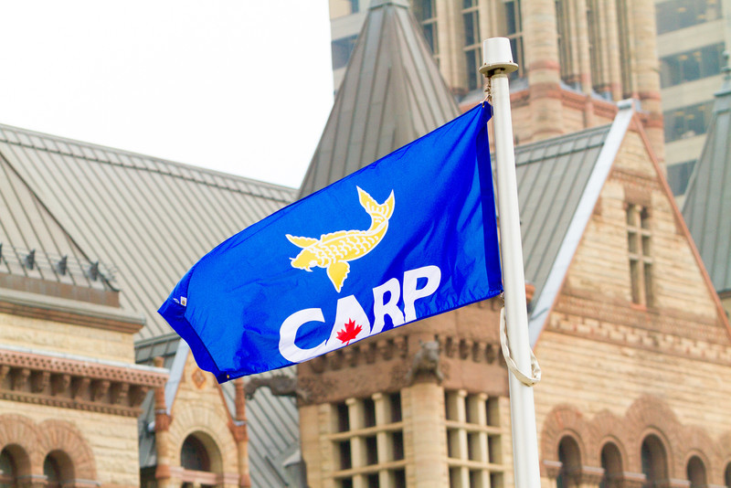 CARP flag over QP