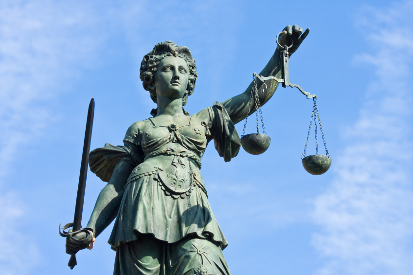 Lady-Justice frankfurt
