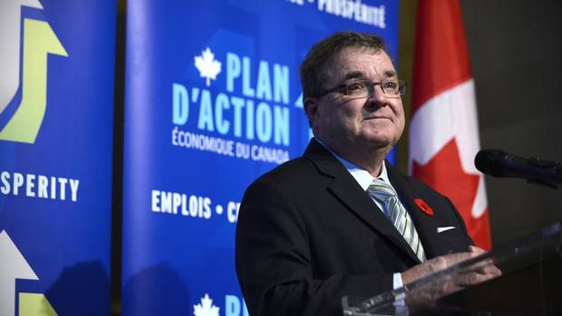 Federal Finance Minister Jim Flaherty in Toronto on Nov. 7, 2013.