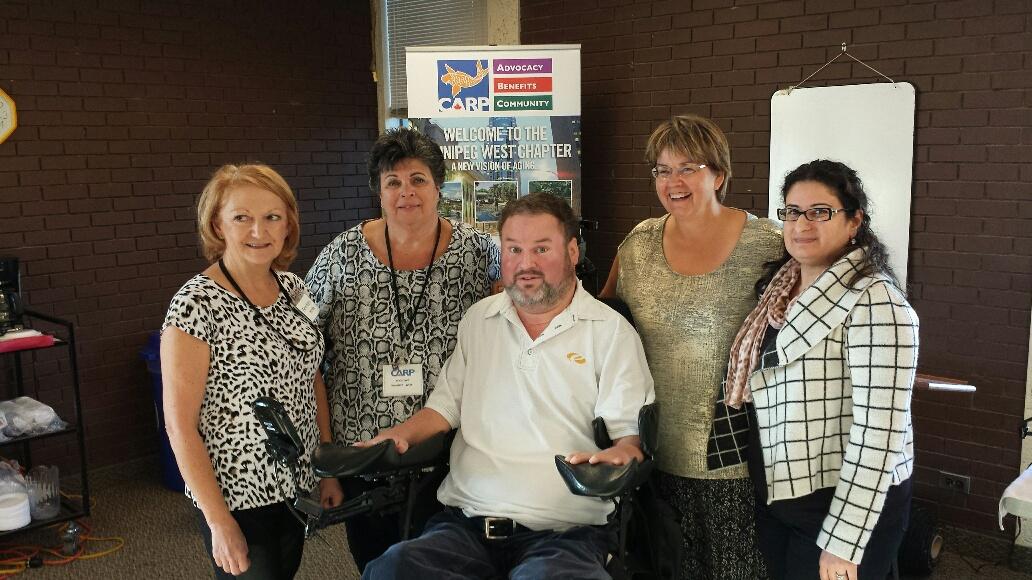 Winnipeg West Chapter with MLA Steven Fletcher