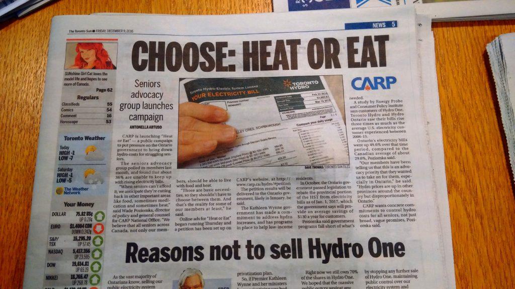 Heat or Eat