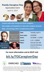 Family Caregiver Day 2017 Information