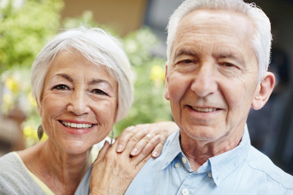 senior couple, dementia