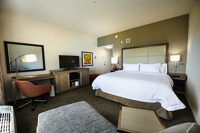 Relax in our spacious King guest rooms.
