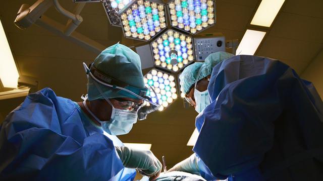 doctor surgery over patient crop