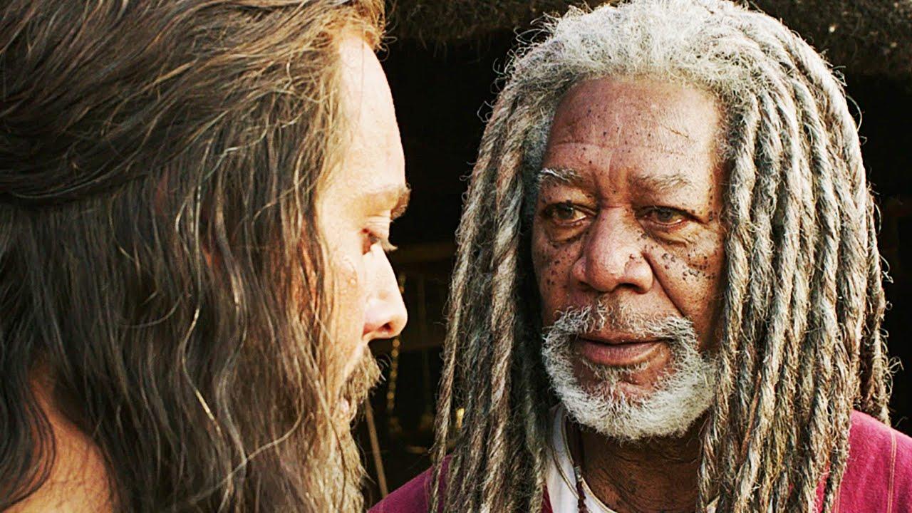 Morgan Freeman i nyinspelningen av Ben Hur
