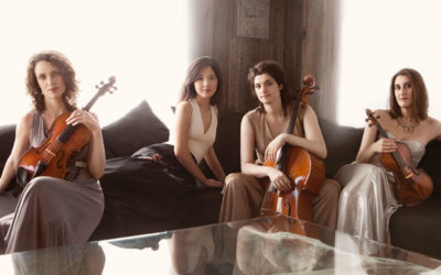 Cecilia String Quartet Performed LIVE from The New Zoomer Hall