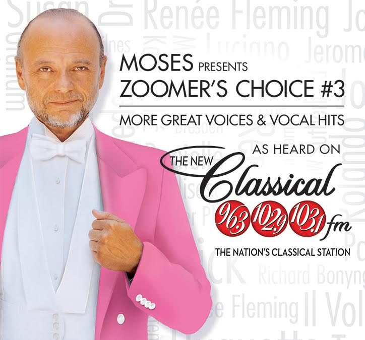 ON SALE NOW! Moses Presents Zoomer's Choice Volume 3: More Great Voices & Vocal Hits