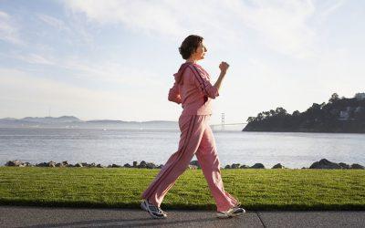 Brisk Walk and Heart Risk