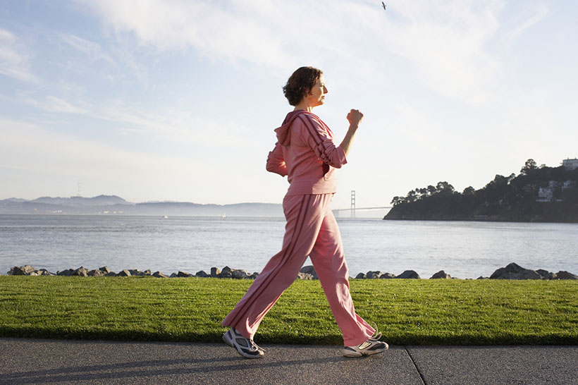 Brisk Walk and Heart Risk