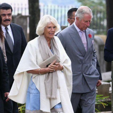Britain's Prince Charles visits Croatian market festival