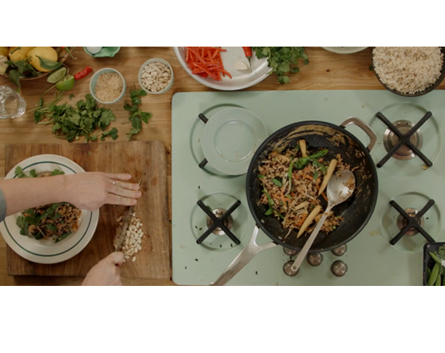 Watch jamie olivers simple vegetable fried rice everything zoomer talk about the perfect dinner recipe for your meatless monday jamie oliver ccuart Choice Image