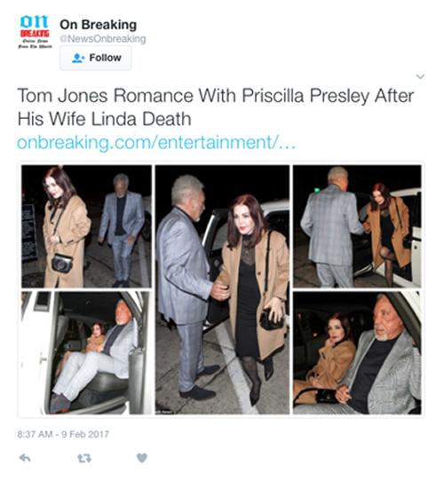 tom jones linda